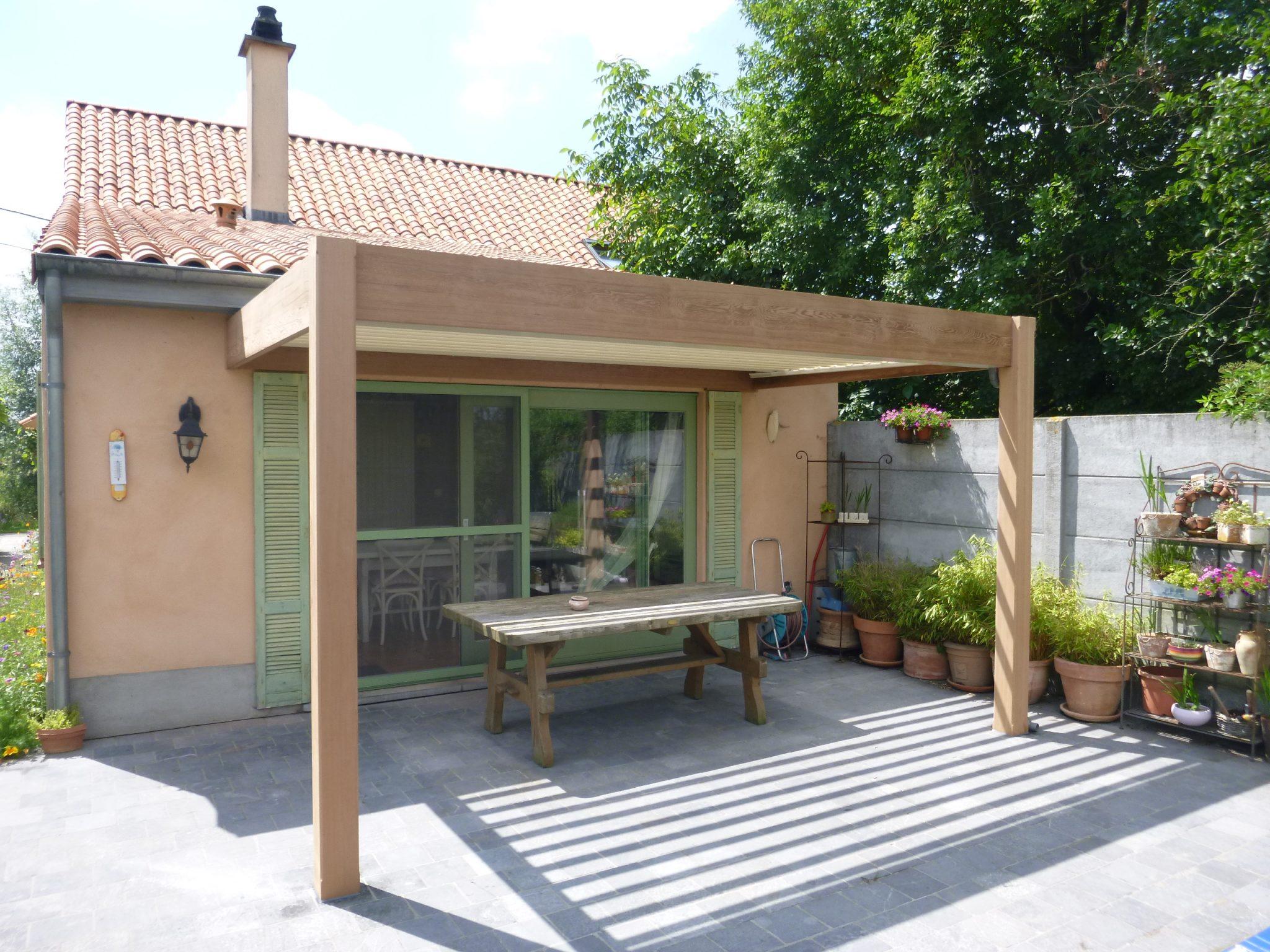 Css outdoor living pergola cederhout en aluminium - Pergola verkoop ...